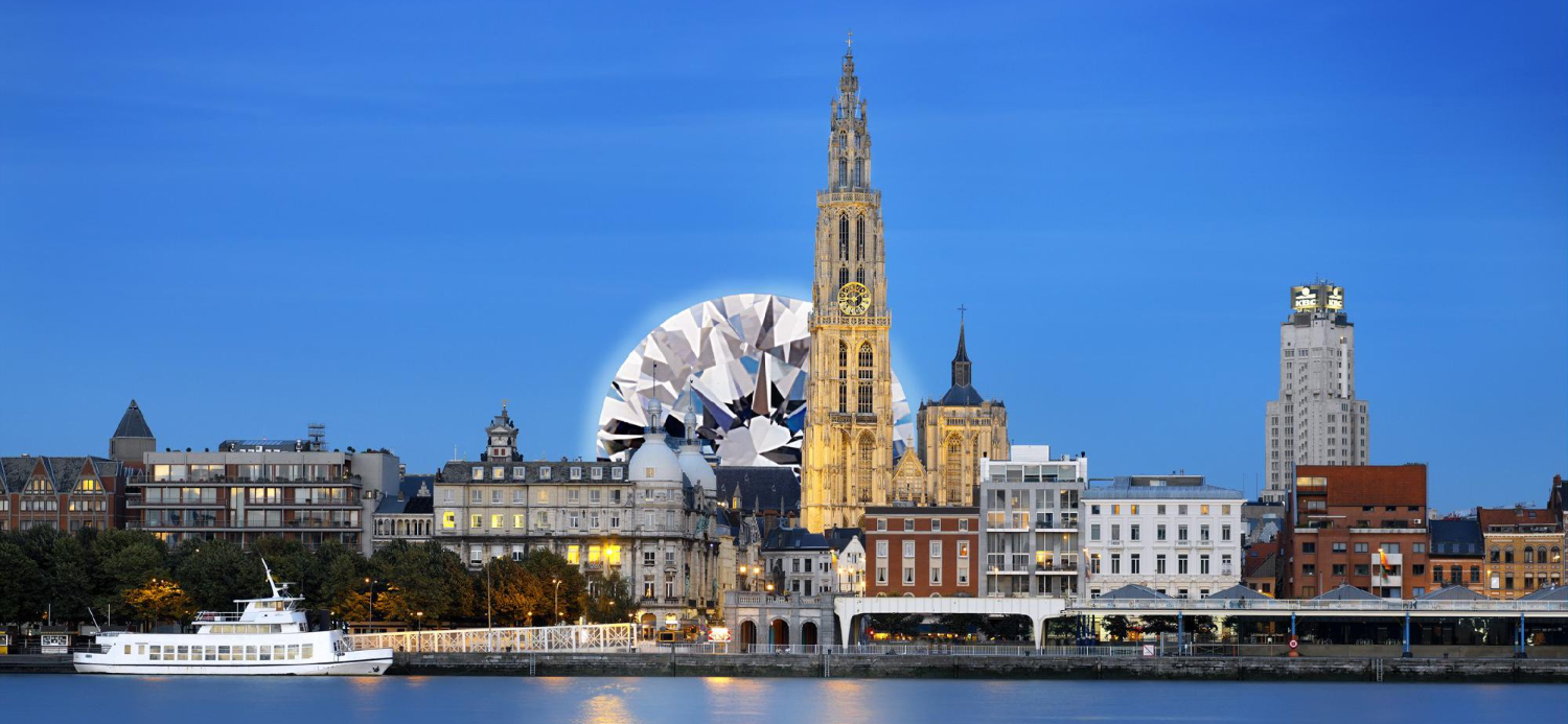 Antwerp, Belgium, the Diamond Capital of the World